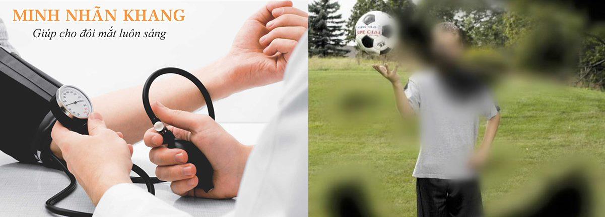 Măt bị mờ đột ngột là biến chứng nguy hiểm của tăng huyết áp